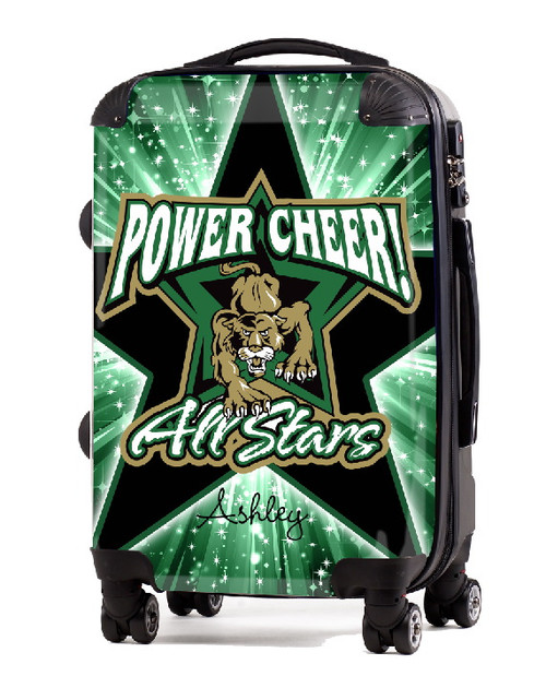 "Power Cheer All Stars 20"" Carry-On Luggage"