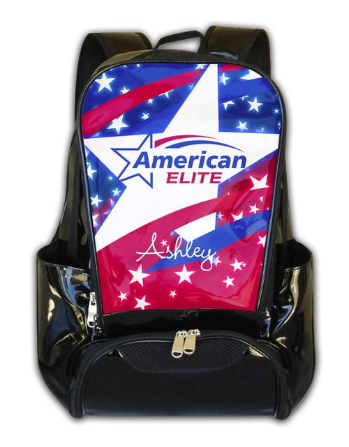 American Elite Cheerleading Personalized Backpack