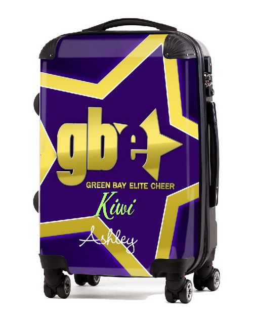 "Green Bay Elite Cheer KIWI 20"" Carry-on Luggage"