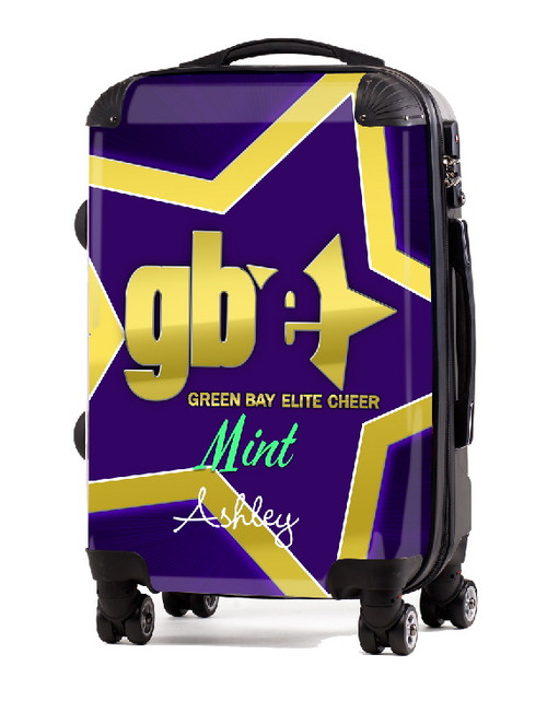 "Green Bay Elite Cheer MINT20"" Carry-on Luggage"