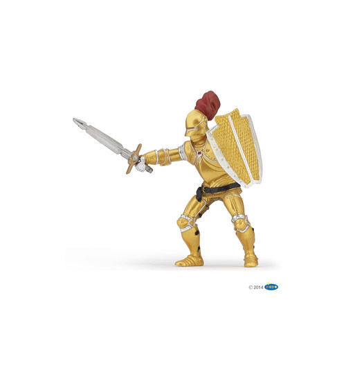 Knight In Gold Armor