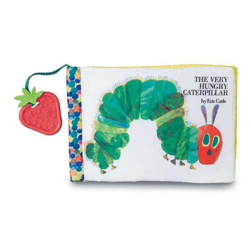 EC Soft Book w/ Strawberry Teether