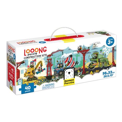 Looong Puzzle Construciton Site