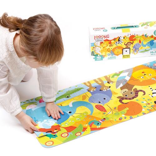 Looong Puzzle Safari