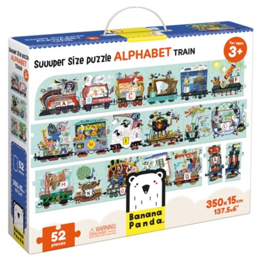 Suuper Size Puzzle Alphabet Train
