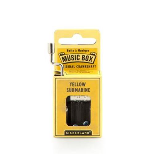 Yellow Submarine Music Box