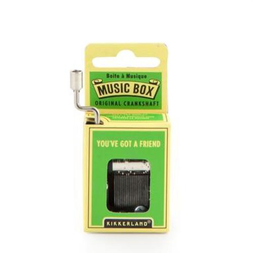 You've Got a Friend Music Box