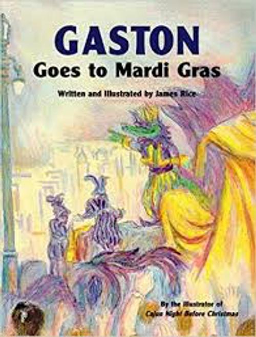 Gaston Goes Marci Gras