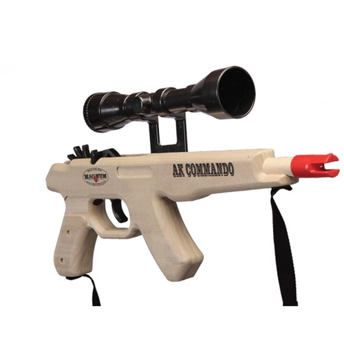 AK Commando w/Scope & Sling