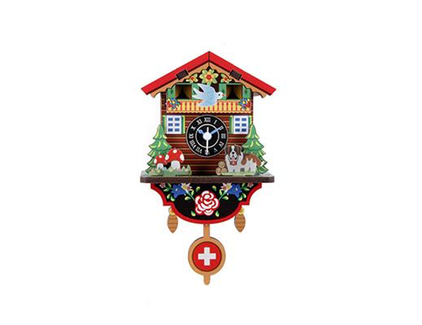 Swiss House Clock Model