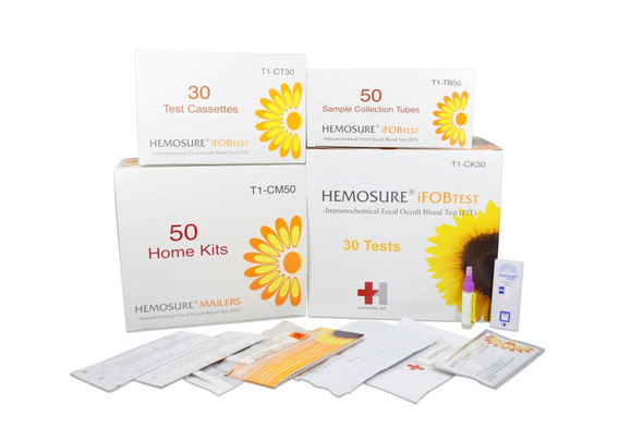 FIT Colorectal Cancer Screening, Hemosure® T1-CK30
