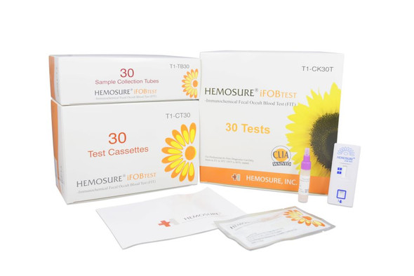 FIT Colorectal Cancer Screening, Hemosure® T1-CK30T
