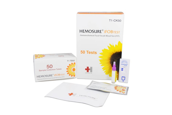 FIT Colorectal Cancer Screening, Hemosure® T1-CK50