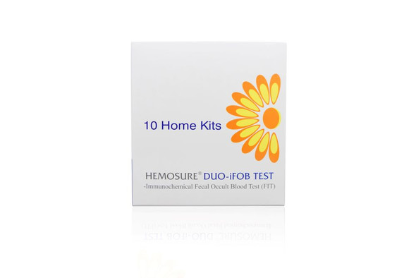 FIT Colorectal Cancer Screening, Hemosure® DUO-CM10