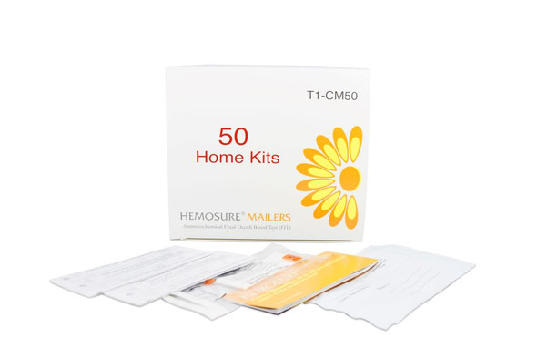FIT Colorectal Cancer Screening, Hemosure® T1-CM50