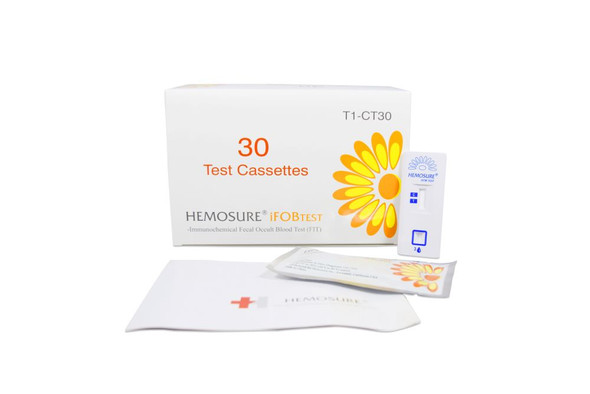 FIT Colorectal Cancer Screening, Hemosure® T1-CT30