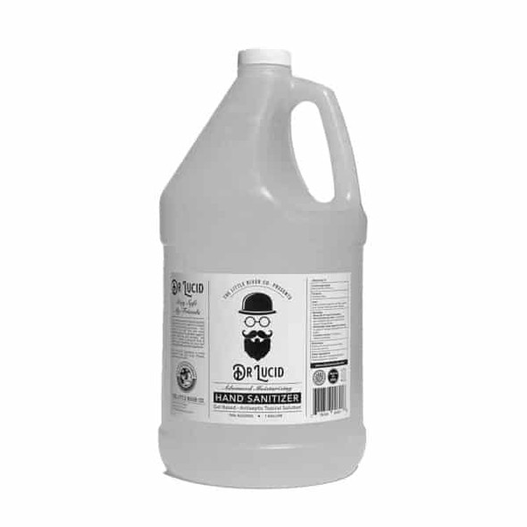 1 Gallon Bottle with Hand Pump, Dr. Lucid Hand Sanitizer Gel - Made in USA