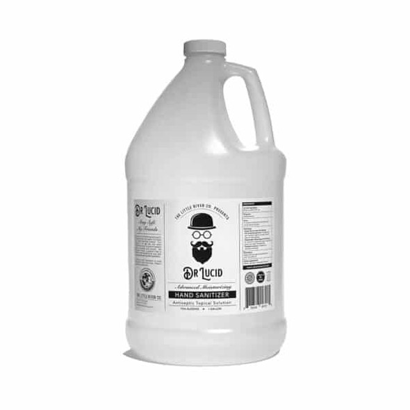 1 Gallon Bottle with Hand Pump, Dr. Lucid Hand Sanitizer Liquid - Made in USA