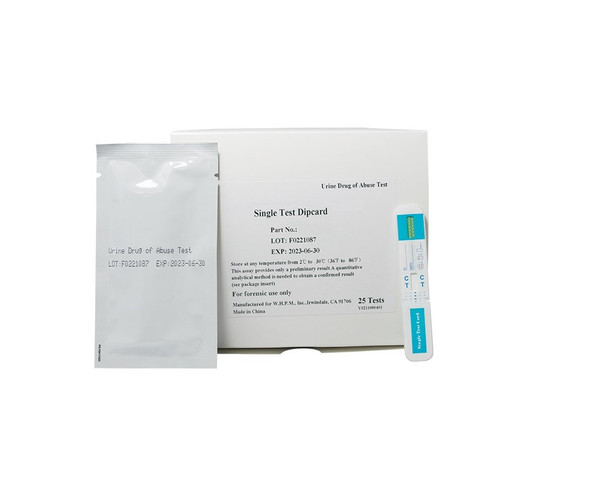 Bath Salts MDPV, Economy Single Panel Dip Card (Box of 25)