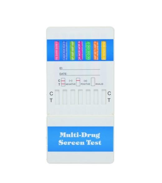 8 Panel UA Economy Dip Card - CLIA Waived, AMP, BAR, BZO, COC, MAMP, OPI, PCP, THC
