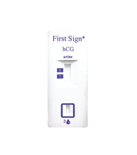 hCG FirstSign CLIA Waived Urine Pregnancy Test Cassettes