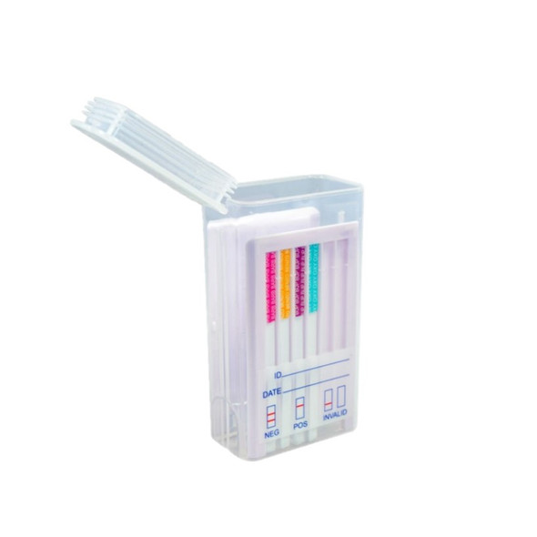 11 Panel Oral Cube with Alcohol - AMP, BAR, BUP, BZO, COC, MAMP, MTD, OPI, OXY, PCP, THC, Alcohol