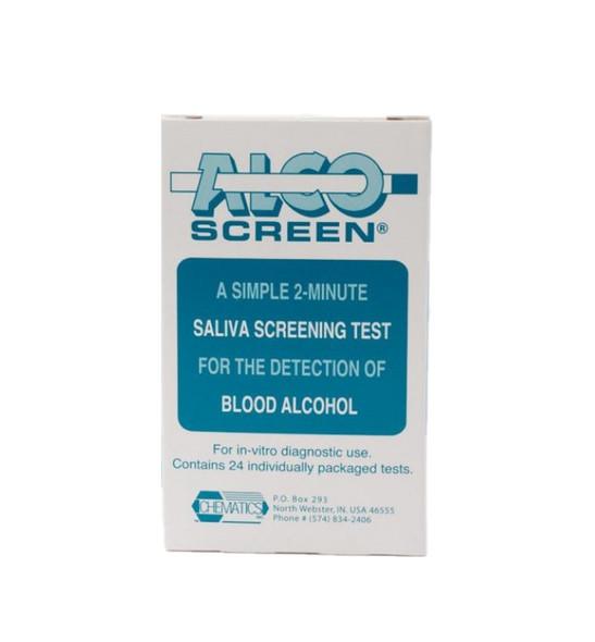 Alco-Screen® CLIA waived Saliva Alcohol Test