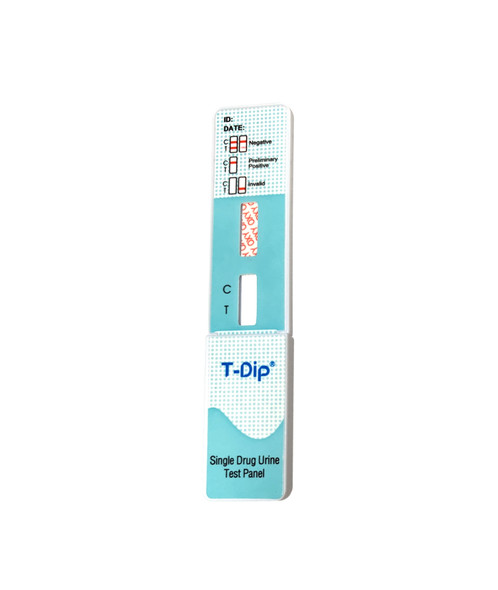 CLIA Waived, T-Dip Single Panel Dip Cards (Box of 25)