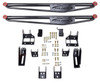 "1999-2010 Ford F250 / F350 4wd Extra & Crew Cab 67"" Traction Bar Kit  – Pro Comp 72400B - 72099B"