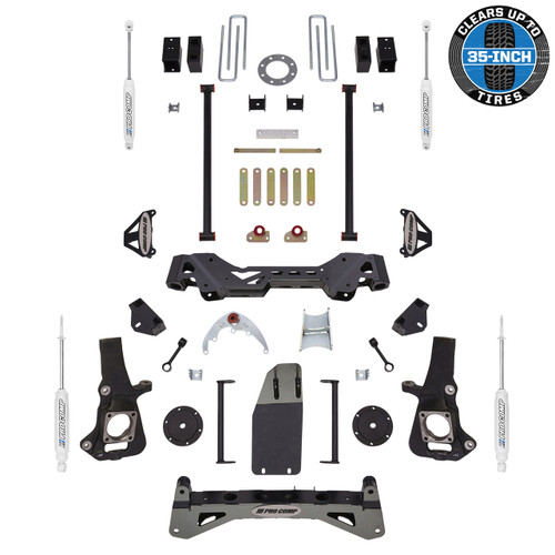 "2001-2010 GM 1500HD/2500HD Pickup Pro Comp 6"" Lift Kit - Pro Comp K1084B"