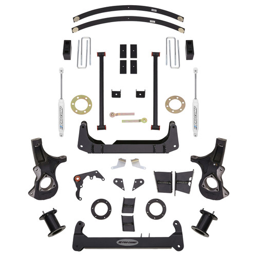 "2007-2013 GM 1500 w/ Non-Auto Trac 6"" Lift Kit - Pro Comp K1143B"