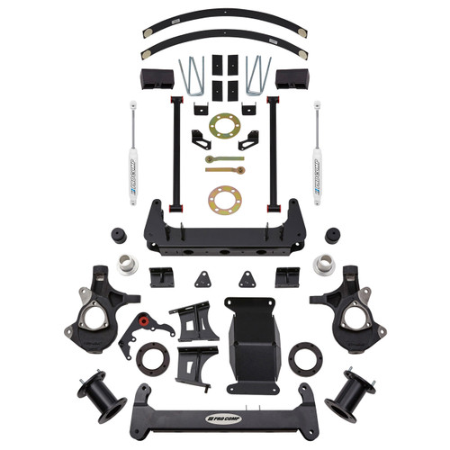 "2014-2016 GM 1500 w/ Factory Alum. Suspension 4"" Lift Kit - Pro Comp K1159B"