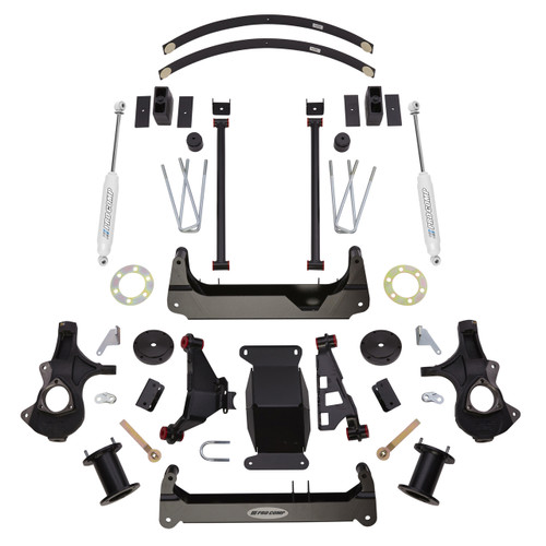 "2016-2018 GM 1500 4wd W/ Stamped Steel Arms 4"" Lift Kit  - Pro Comp K1173B"