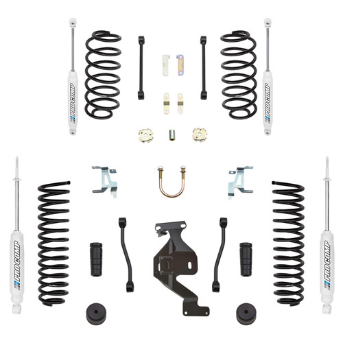 "2007-2018 Jeep Wrangler JK 4wd 2 Door 4"" Stage 1 Lift Kit - Pro Comp K3086B"