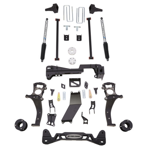 "2015-2020 Ford F-150 4wd 6"" Lift Kit w/ Rear Pro Runner Shocks - Pro Comp K4189BP"