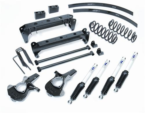 "1999-2006 GM 1500 4wd w/ Coil Springs 7"" Lift Kit - Pro Comp K1078B"