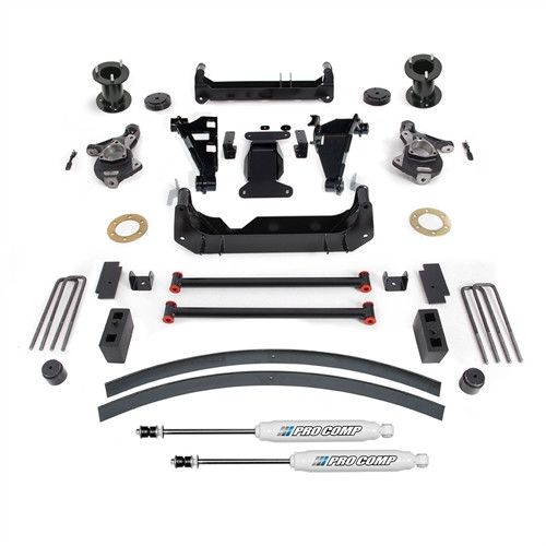 """2015-2019 GM SUV 2wd/4wd w/ Stamped Steel & Factory Aluminum Suspension 6"""" Lift Kit - Pro Comp K1167B"""