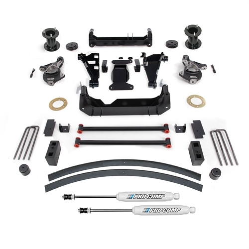 "2015-2019 GM SUV 2wd/4wd w/ Stamped Steel & Factory Aluminum Suspension 6"" Lift Kit - Pro Comp K1167B"