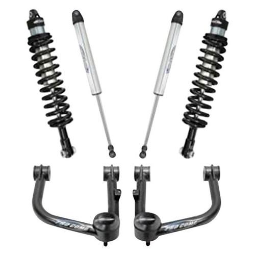 """2009-2013 Ford F-150 4wd 2.5"""" Lift Kit w/ Black Series Shocks – Pro Comp 52111K"""