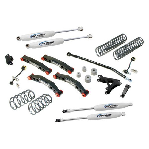 "1997-2006 Jeep Wrangler TJ/LJ 4wd 4"" Stage II Lift Kit - Pro Comp K3083B"