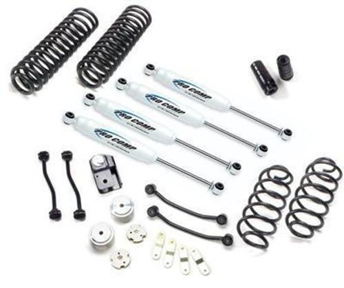 "2007-2016 Jeep Wrangler JK 2 Door Stage I  4wd 4"" Lift Kit - Pro Comp K3086BRH"