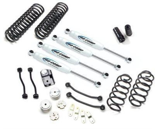 "2007-2016 Jeep Wrangler JK 2 Door Stage I  4wd 4"" Lift Kit - Pro Comp K3086BRH"