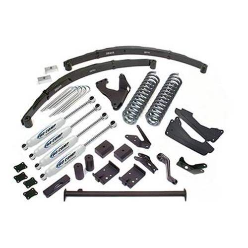 "2005-2007 Ford F-250 & F-350 4wd V10 Gas Engine 6"" Stage I Lift Kit – Pro Comp K4031B"