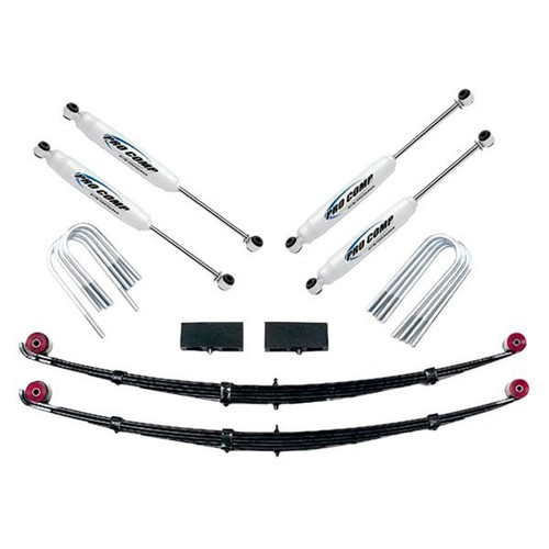 "1979-1985 4 Runner 4wd w/ Rear Leaf Springs 3"" Lift Kit - Pro Comp K5058B"