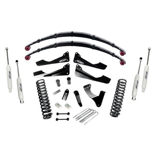 "2008-2010 Ford F-250 & F-350 4wd V10 Gas Engine 6"" Stage II Lift Kit w/ Rear Leaf Springs – Pro Comp K4168B"
