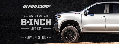 2019 Chevy & GMC GM 1500 4wd 6