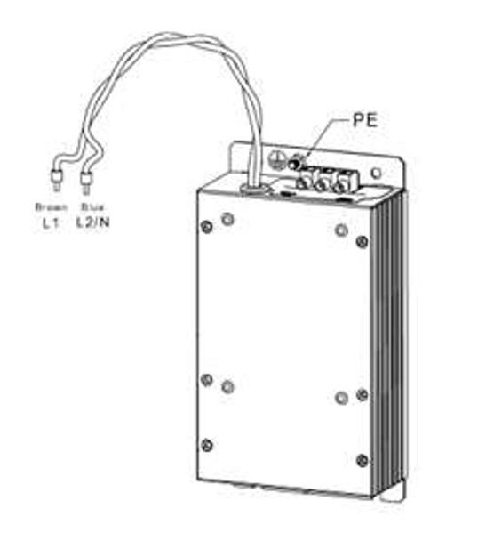 Lenze DB Module w/ restrs - 3HP, 590V 845-511