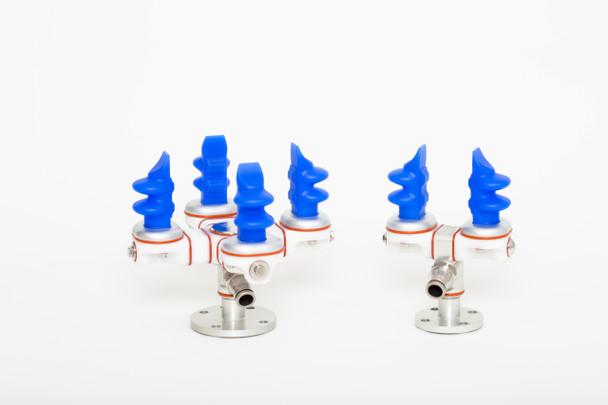 Soft Robotics Mini Finger mGrip Module - Stainless Steel - 6 Pack