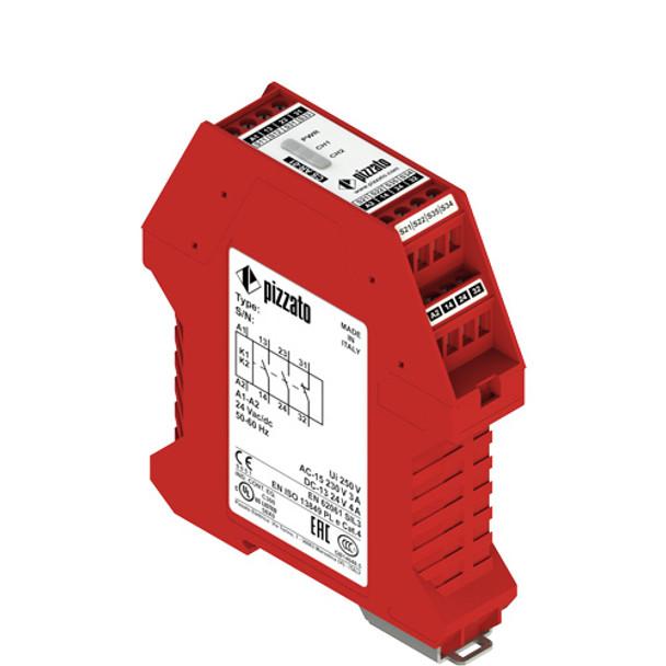 Pizzato CS AR-01V230 Safety module 2NO+1NC, category 4