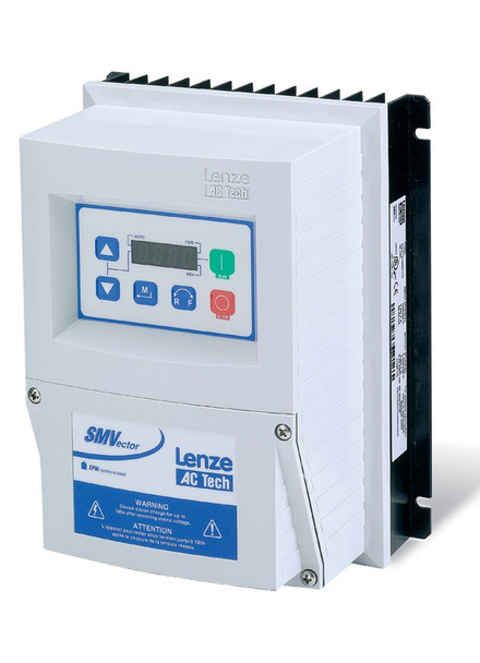 Lenze ESV371N02YXC SMV Frequency Inverter Nema 4X (IP65) Indoor 0.5 to 3 Hp